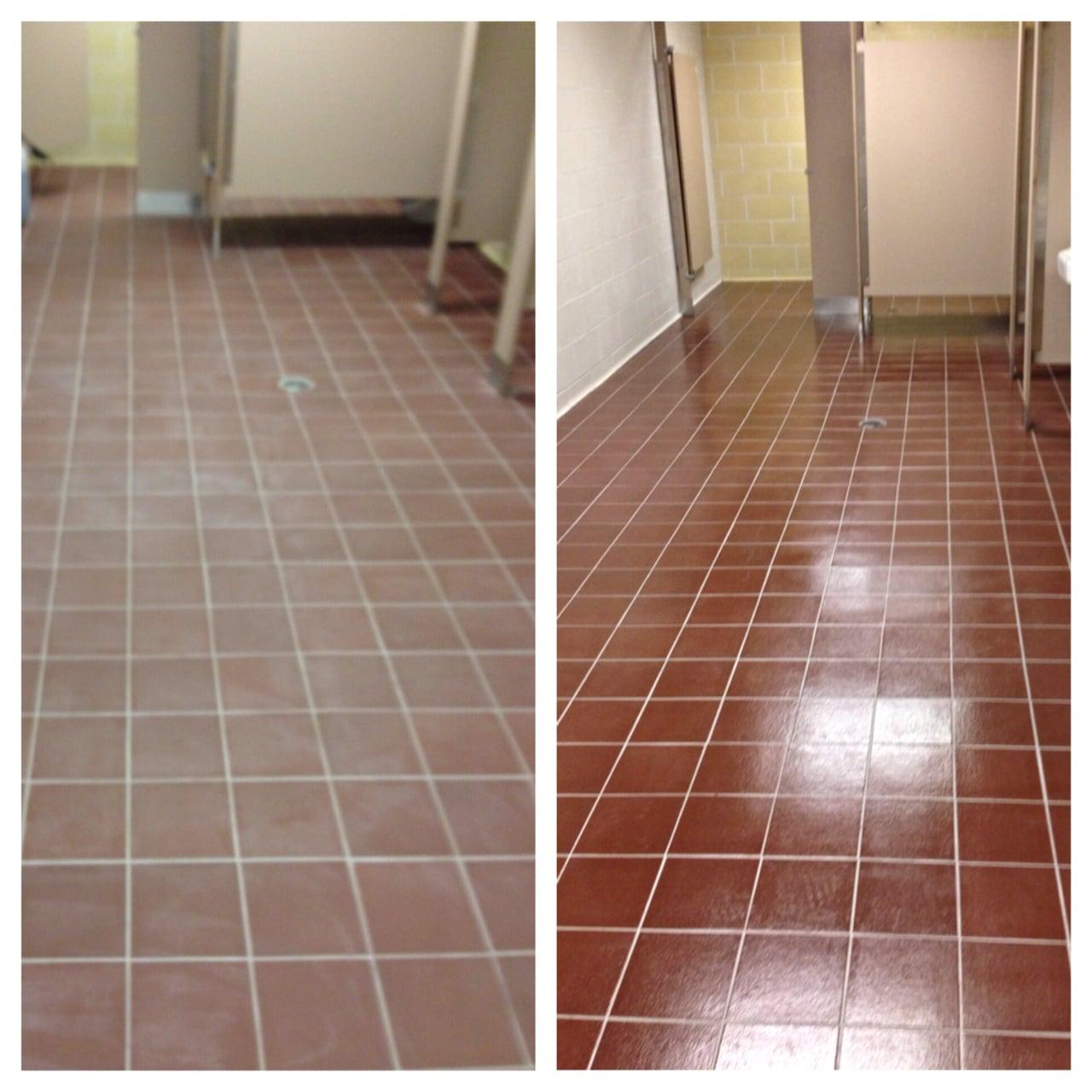 Before & After Tile Cleaning in Denver